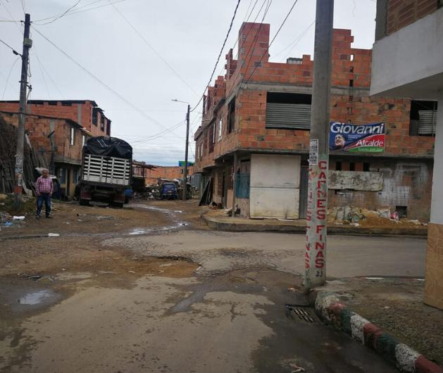 Calles Soacha